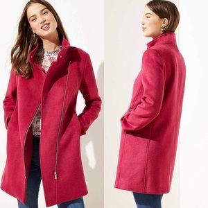 LOFT / Ann Taylor Berry 🍓 Coat